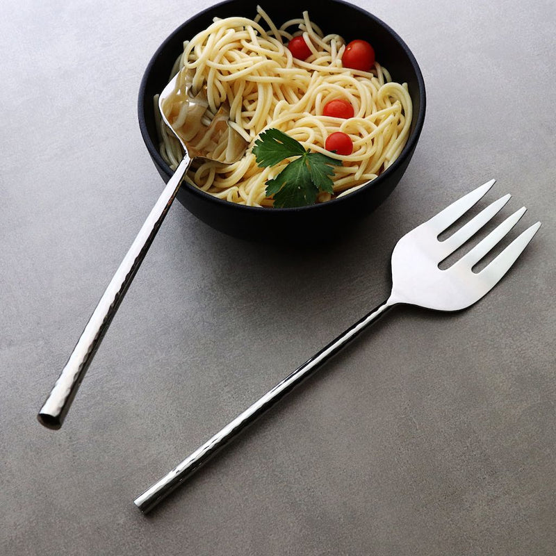 stainless steel serving forks