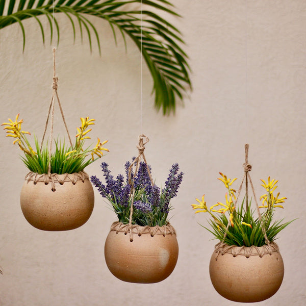 Hanging Ceramic Pot