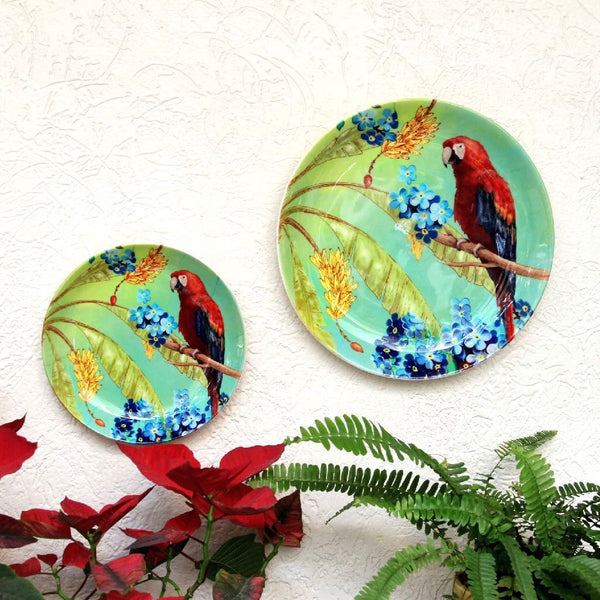 Macaw Wall Plate