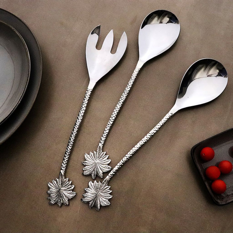 Palm Serving Cutlery Set