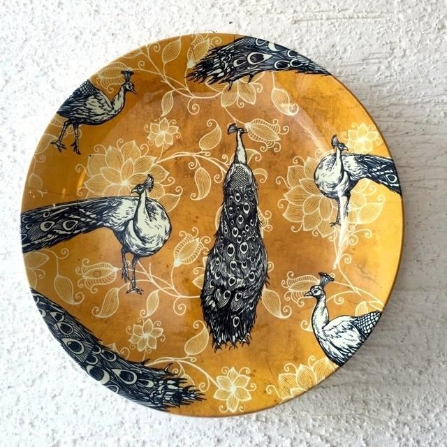 Peacock Wall Plate