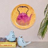 Pink Kettle Wall Plate