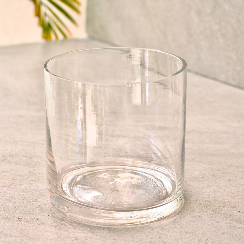 Glass Round Vase Small