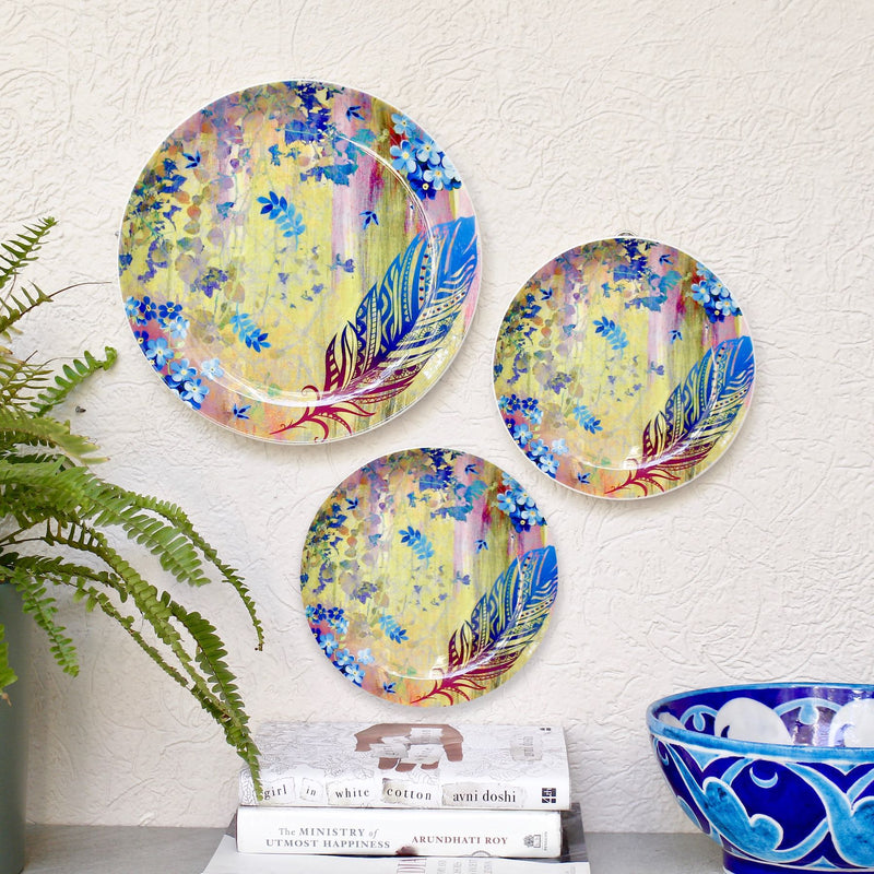 Feather Forest Wall Plate