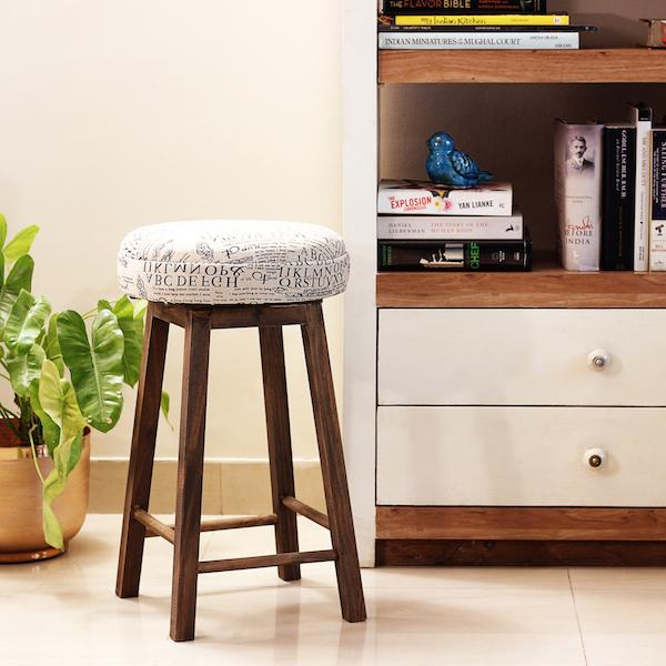 Farm Wood Stool L