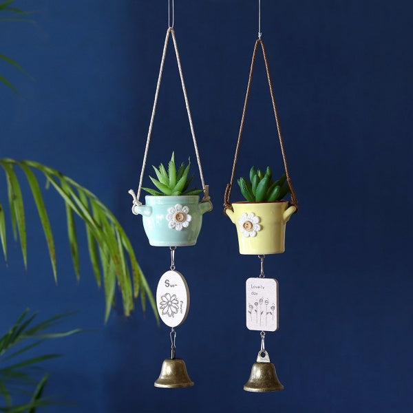 Cute Hanging Pot Pair