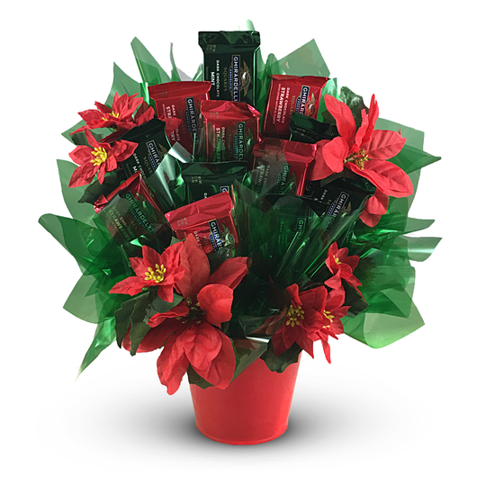 Ghirardelli® Poinsettia Candy Bouquet