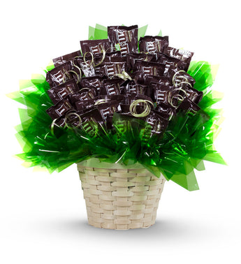 M&M Candy Bouquet