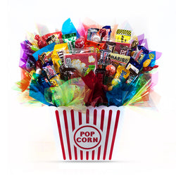 Movie Night Candy Bouquet
