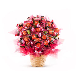 Pretty In Pink Candy Bouquet