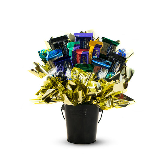 Dark Chocolate Decadence Candy Bouquet