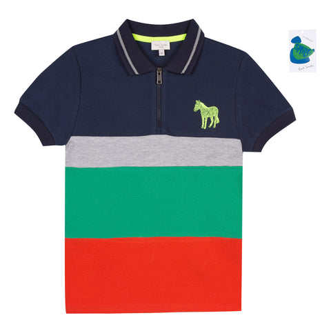 Paul Smith Taka Bluenerry Polo Shirt