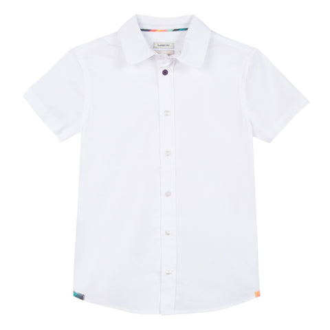 Paul Smith Romuald Per White Shirt