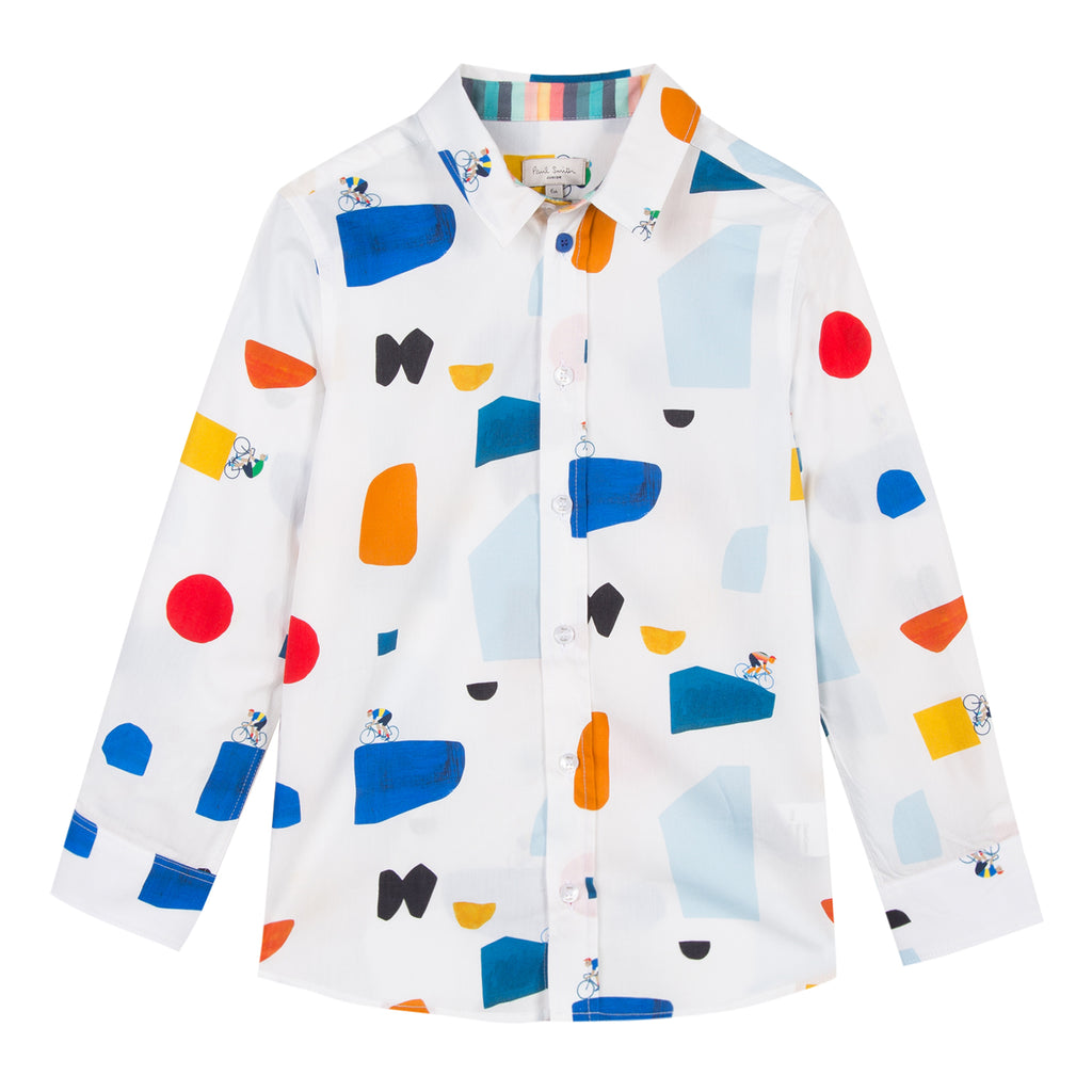 Paul Smith Tom Signature Print Shirt