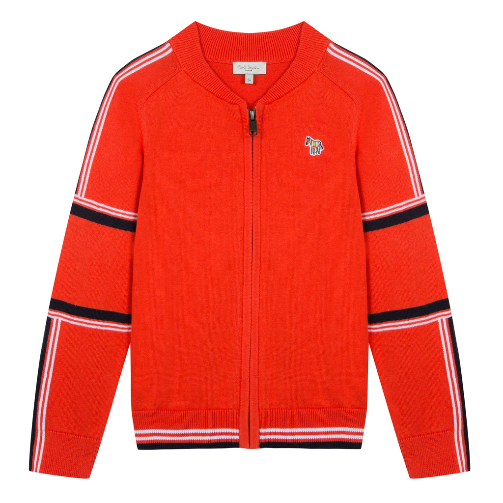 Paul Smith Thery Red Zip Sweater