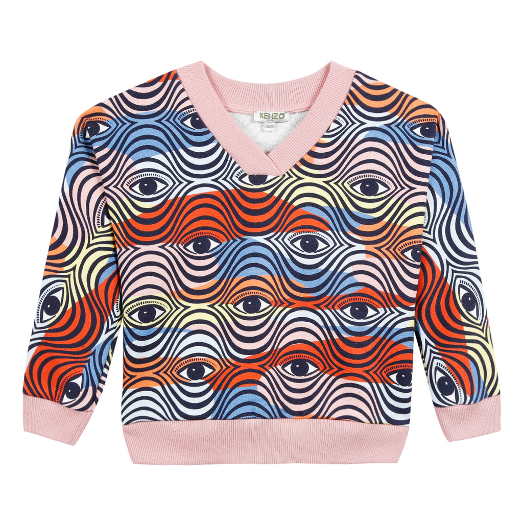 Kenzo  Logo Jg Long-Sleeved Cotton Sweatshirt