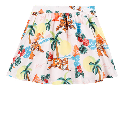 Kenzo Fauve Jungle Skirt