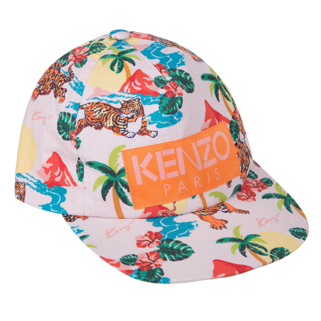 Kenzo  Faith Pink Cotton Cap