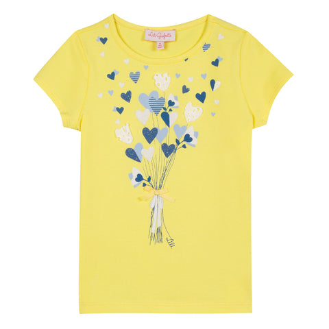 Lili Gaufrette Garence Bright Yellow Tee-Shirt