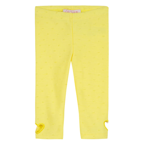 Lili Gaufrette Guariguette Yellow Leggings