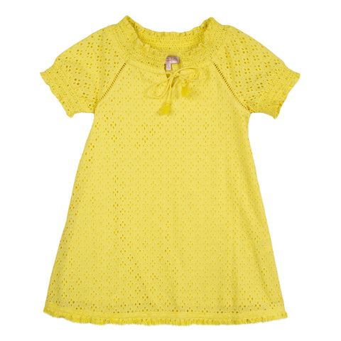 Lili Gaufrette Golly Jaune Dress
