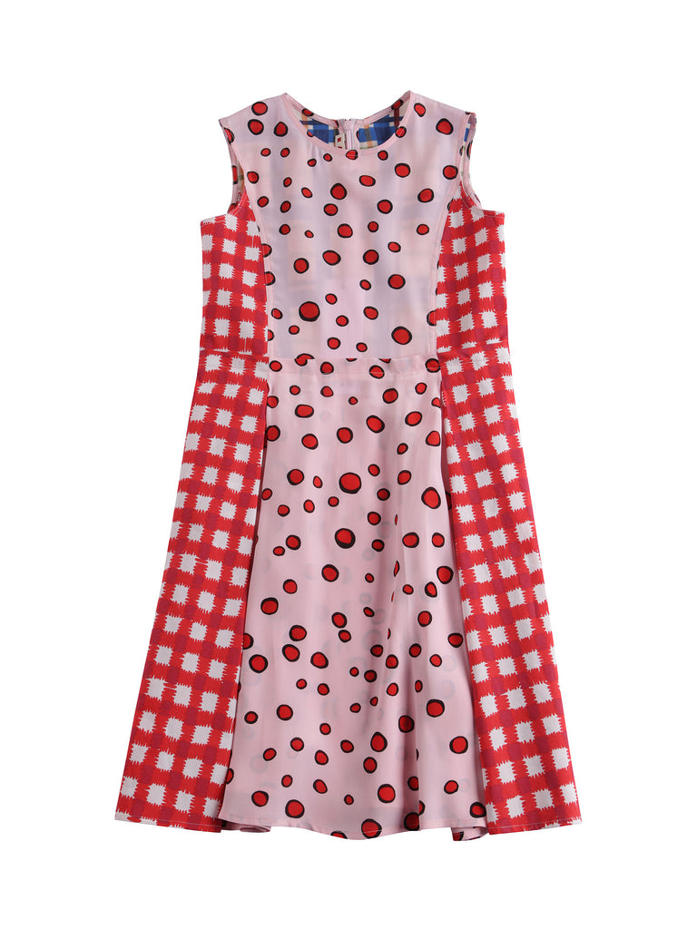 Marni  Patchwork Print Dress