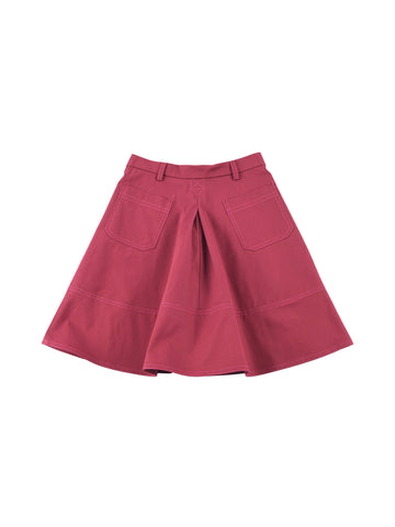 Marni  Bordeaux Skirt