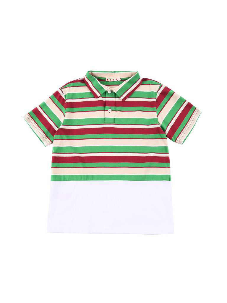 Marni  Brilliant Green Polo Shirt