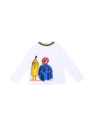 Marni  White T-Shirt