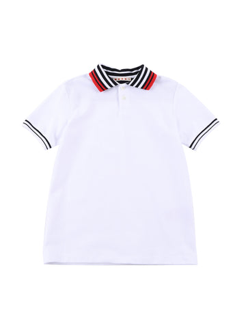 Marni  White Polo Shirt