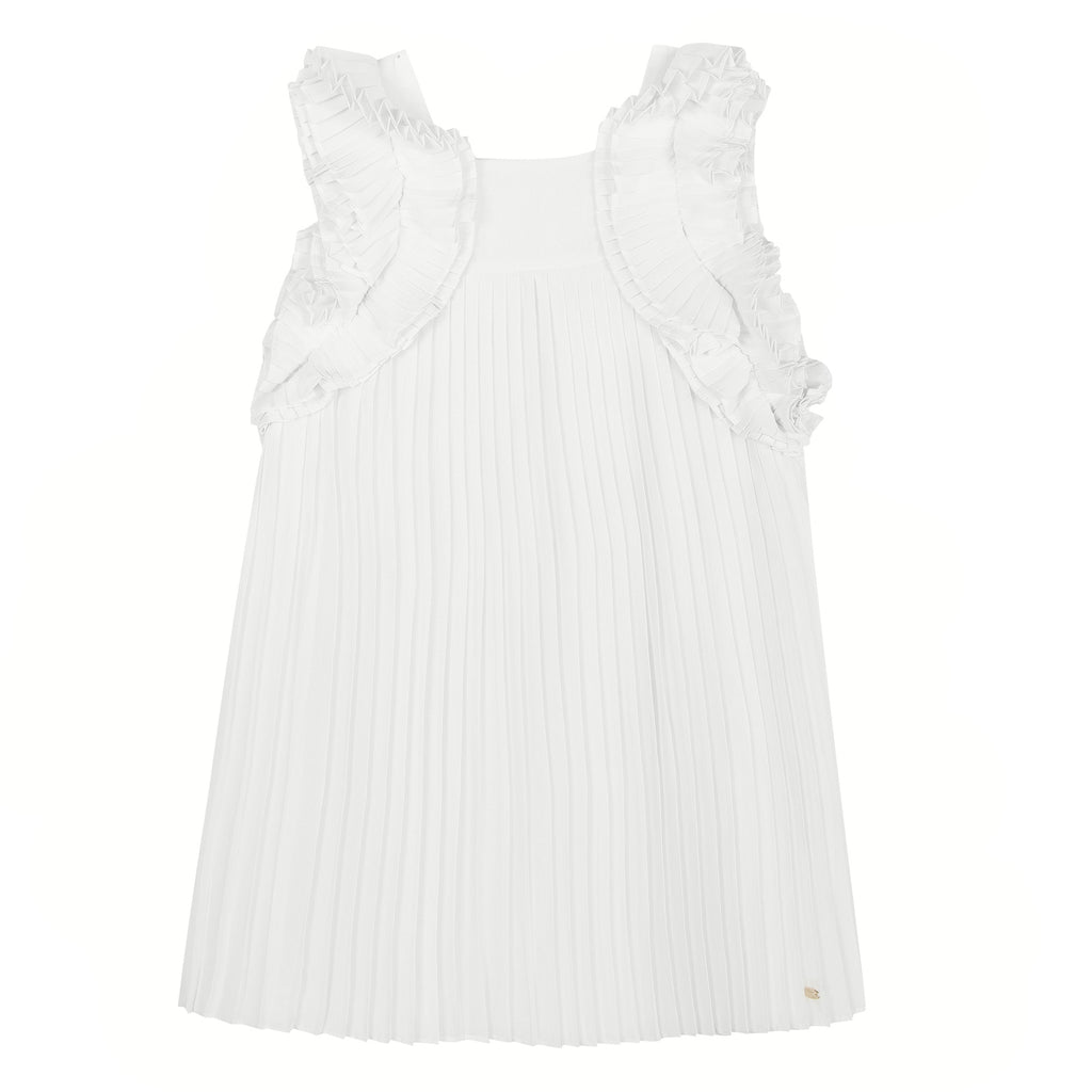 Tartine Et Chocolat Ceremonie Junior Pleated Dress