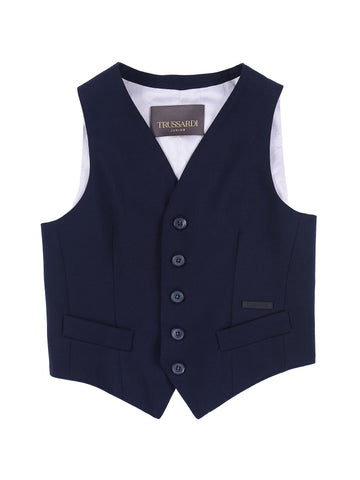 Trussardi Junior Blue Vest
