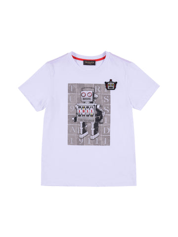 Trussardi Junior White T-Shirt