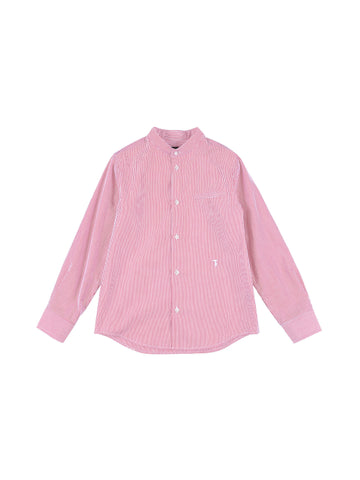 Trussardi Junior Striped Red Shirt