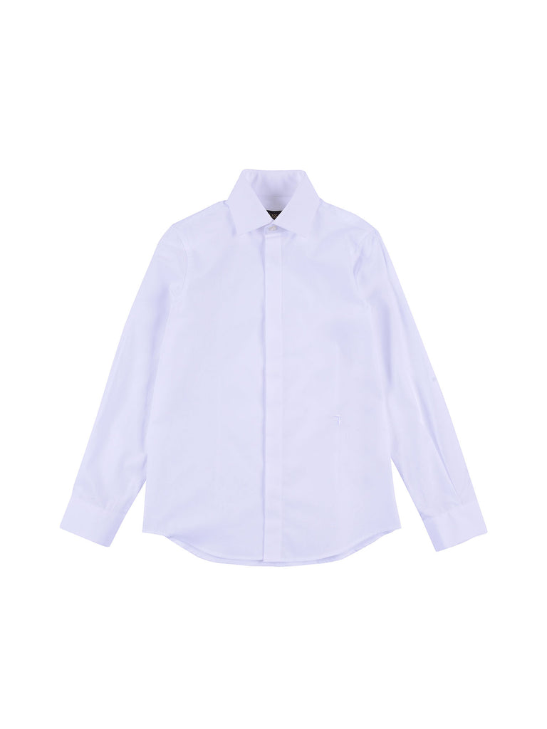 Trussardi Junior White Shirt