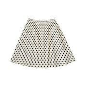 Zaikamoya  Polka Dot Gathered Skirt