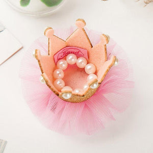 Majestic Tiara Hair Clip For Baby Girl