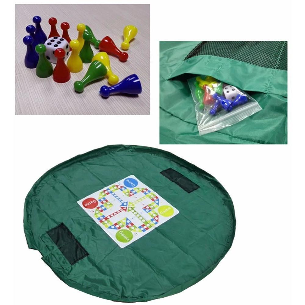 Portable Rug Storage For Babies' Toys