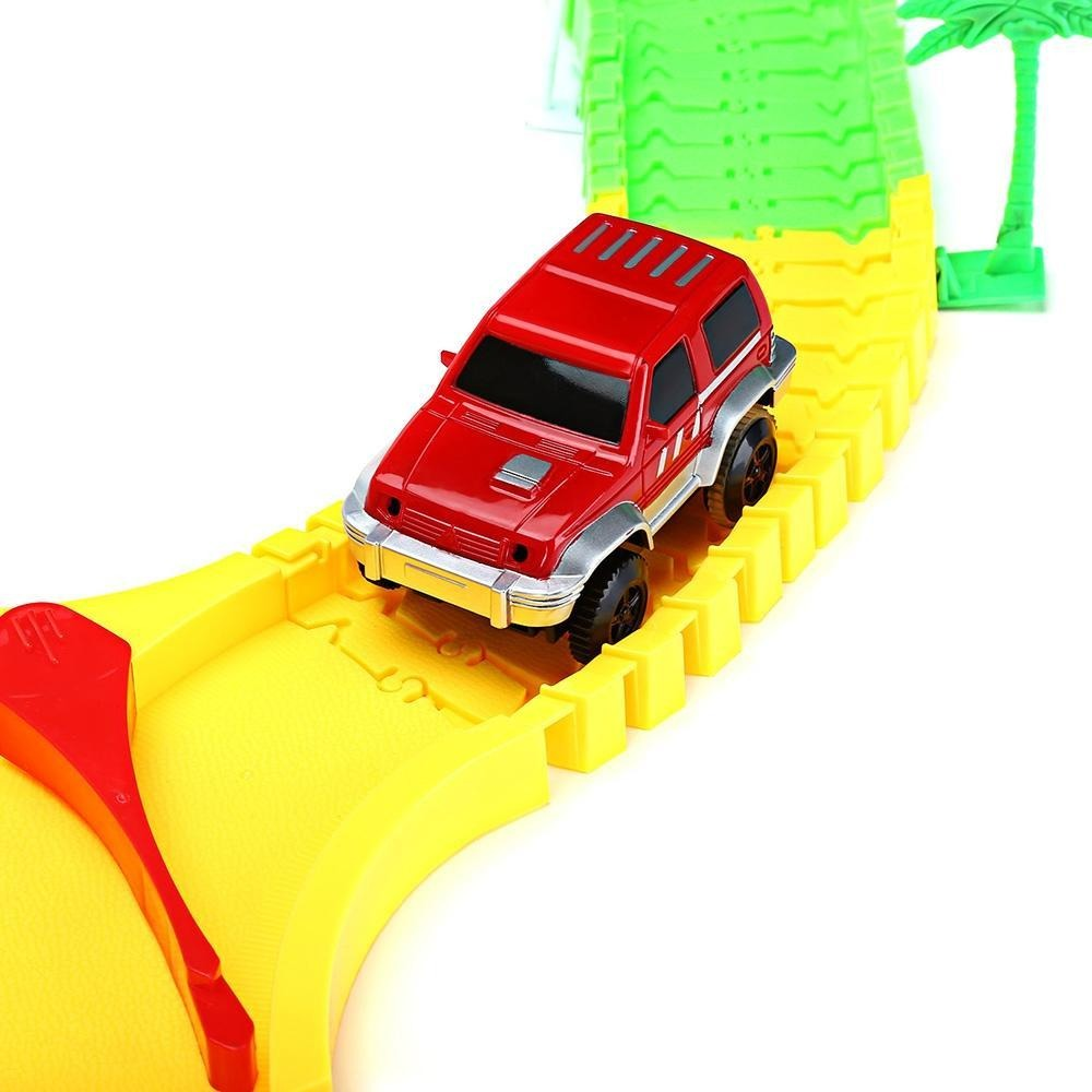 Flexible Car Racing Track Set