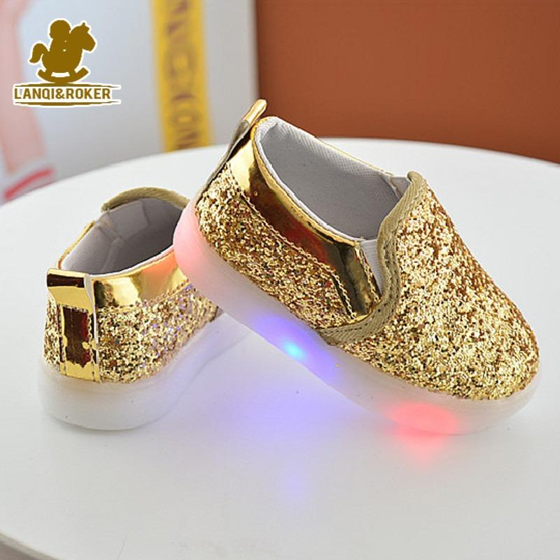 Sparkly LED Glow Shoes