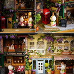Miniature Wood Dollhouse