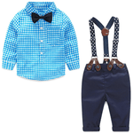 Fashionable Long Sleeve With Detachable Suspender For Babies