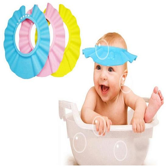 Adjustable Baby Shampoo Bath Shower Cap