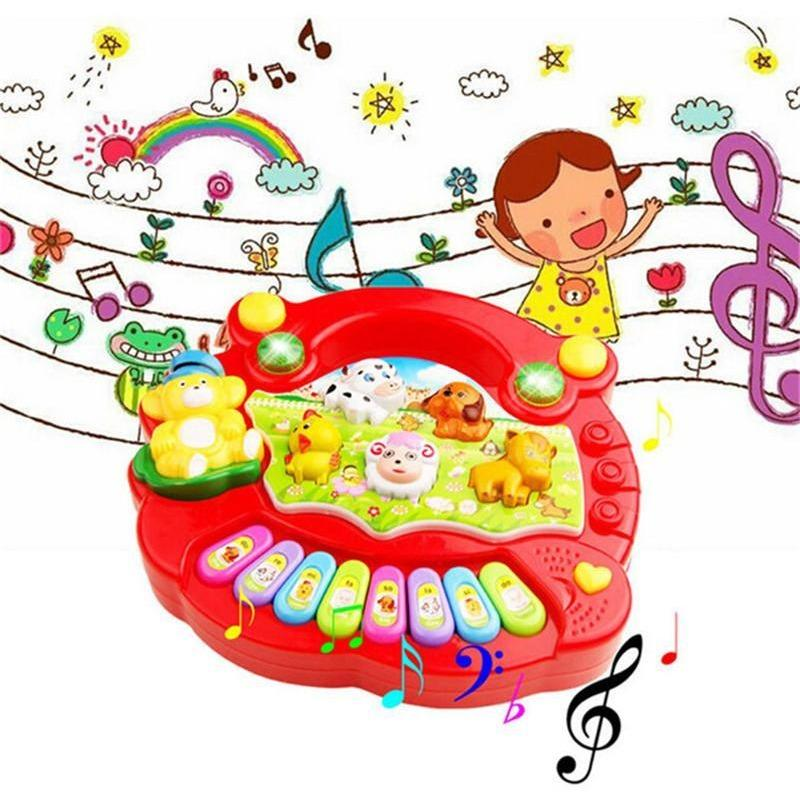 Educational Piano - Animal Farm Developmental Music Toy