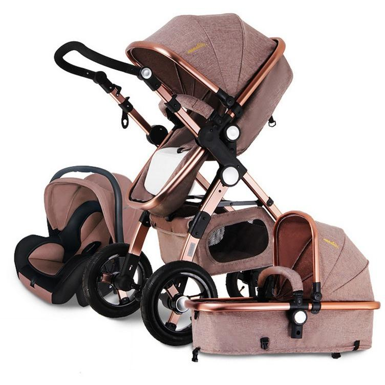 3 In 1 Prestige Baby Stroller With Car Seat Travel System