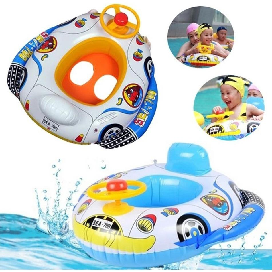 Inflatable Pool Ring Float Boat
