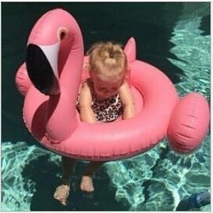 Baby Inflatable Flamingo Ring