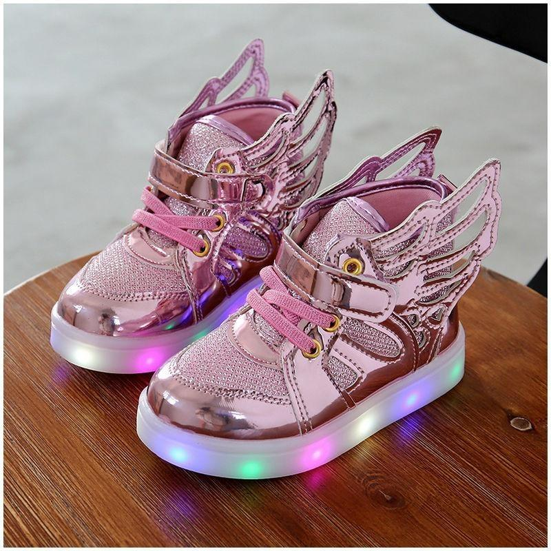 Luminous Flying Wing Light-Up Sneakers