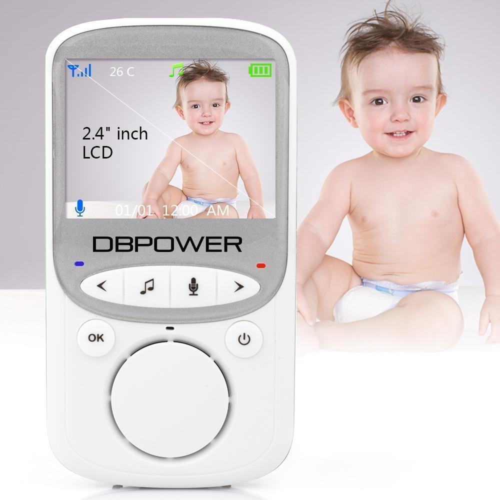 DBPOWER Wireless LCD Audio Video Baby Monitor