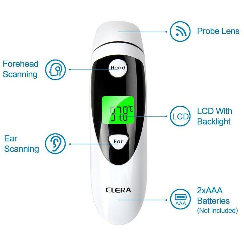 Infrared Digital Dual Mode Thermometer